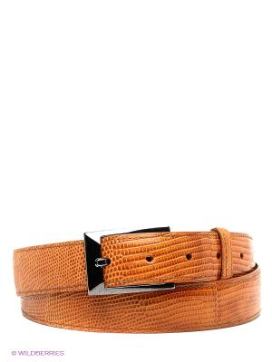 Pемень Pan American leather. Цвет: светло-оранжевый