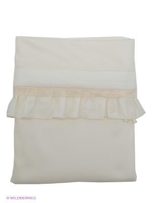 Постельное белье RETAGGIO. Цвет: молочный