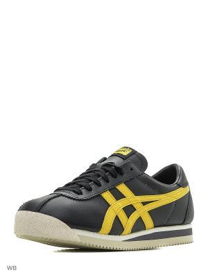 Кроссовки TIGER CORSAIR ONITSUKA. Цвет: черный, желтый