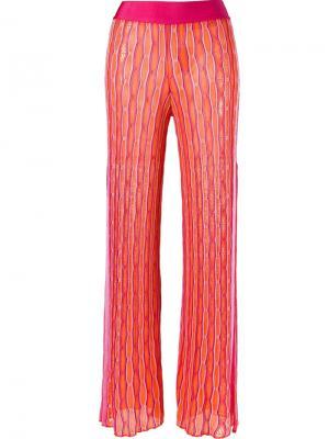 Knit trousers Cecilia Prado. Цвет: розовый и фиолетовый