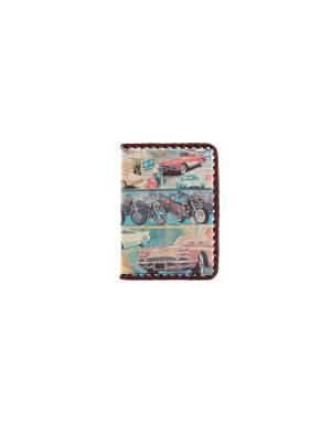 Обложка для автодокументов Кажан. Цвет: бежевый