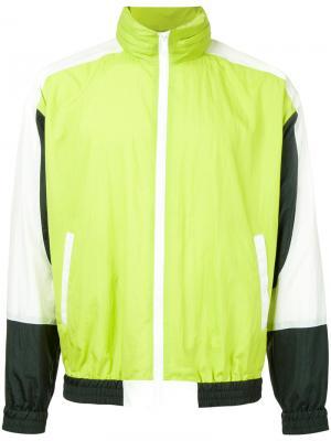 Спортивная куртка Doublet. Цвет: зелёный