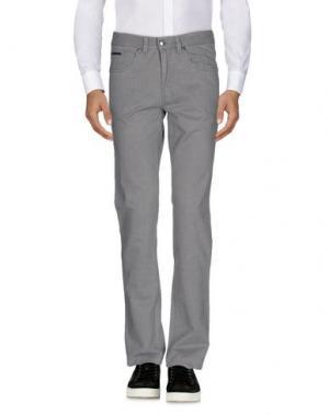 Повседневные брюки CONTE OF FLORENCE. Цвет: серый