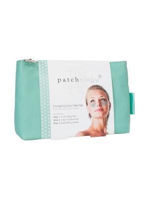 Патчи для усталых глаз в сумке Patchology. Цвет: светло-зеленый