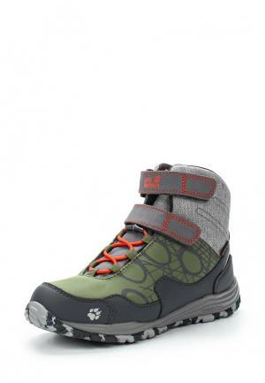 Ботинки Jack Wolfskin. Цвет: хаки