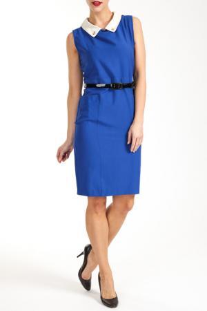 Платье Collezione di Ines. Цвет: blue, black and white