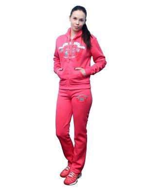 Костюм спортивный PROFFI SPORT. Цвет: розовый