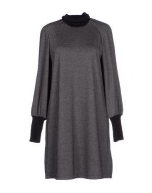 Короткое платье ANTIPODIUM. Цвет: черный