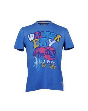 Футболка WAIMEA CLASSIC. Цвет: пастельно-синий