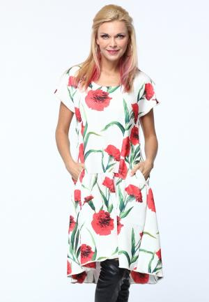 Платье Kata Binska. Цвет: белый