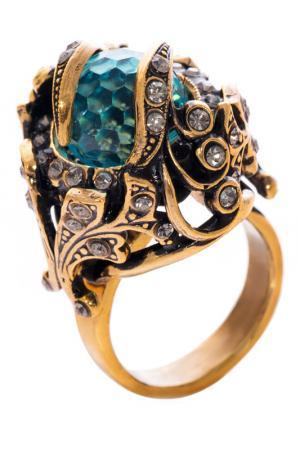 Кольцо MAURIZIO MIRI. Цвет: коричневый