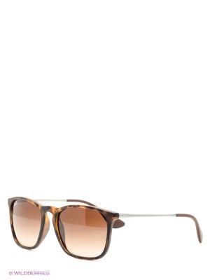 Очки солнцезащитные CHRIS Ray Ban. Цвет: коричневый