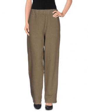 Повседневные брюки LABO.ART. Цвет: зеленый-милитари