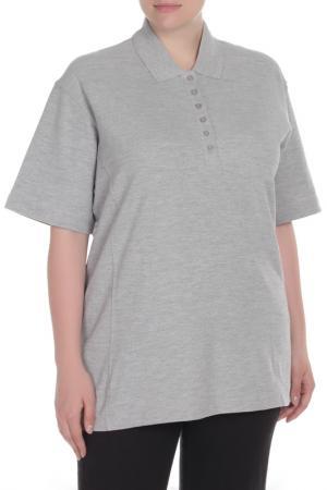 Рубашка Поло HARTWELL. Цвет: серый