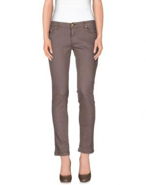 Повседневные брюки DUCK FARM. Цвет: хаки
