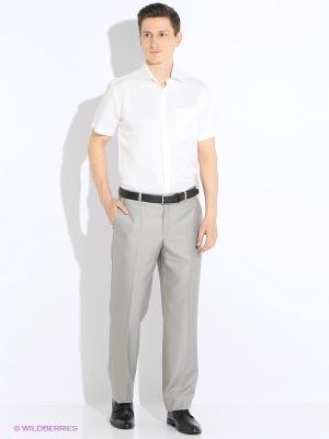 Рубашка с короткими рукавами Hans Grubber. Цвет: молочный