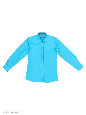 Рубашка Brostem. Цвет: бирюзовый