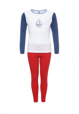 Пижама Petit Bateau. Цвет: разноцветный
