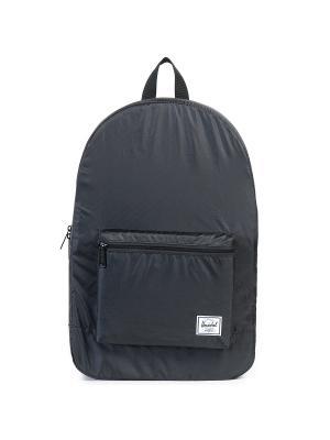 Рюкзак PACKABLE DAYPACK (A/S) Herschel. Цвет: антрацитовый