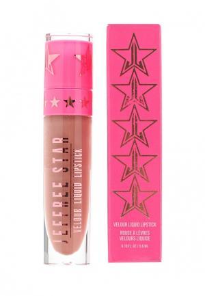 Помада Jeffree Star Cosmetics. Цвет: коричневый