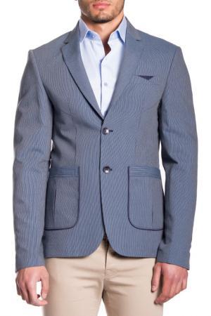 Пиджак MODACRISE. Цвет: синий