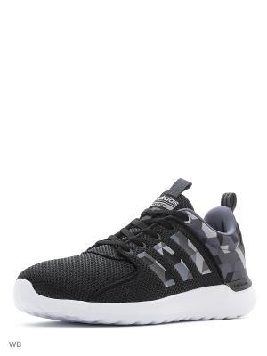 Кроссовки CLOUDFOAM LITE RACE CBLACK/ONIX/DGSOGR Adidas. Цвет: черный, белый