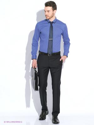 Рубашка PALMARY LEADING. Цвет: темно-синий