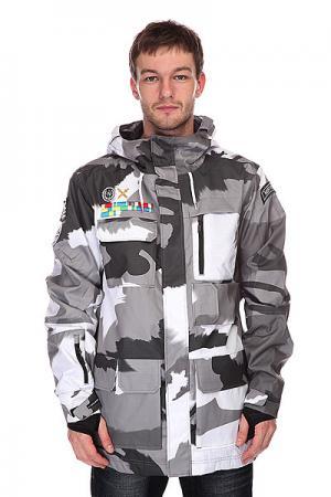 Куртка  Corporal Black/Gray Neff. Цвет: серый,черный,белый