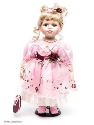 Кукла фарфоровая Мелания Lisa Jane. Цвет: розовый