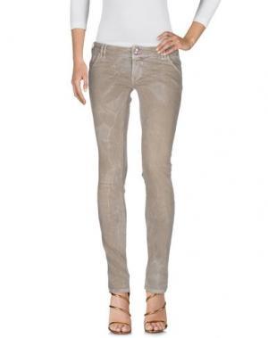 Джинсовые брюки JCOLOR. Цвет: бежевый