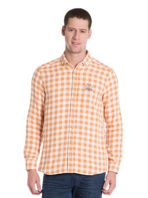 Рубашка U.S. Polo Assn.. Цвет: оранжевый