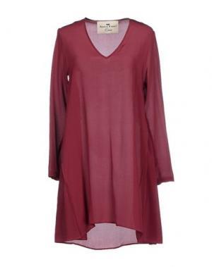 Короткое платье ADELE FADO QUEEN. Цвет: пурпурный