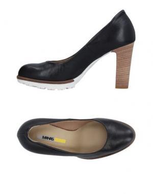 Туфли MANAS. Цвет: черный