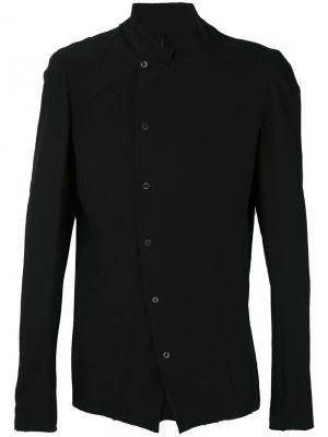 Рубашка с фигурным воротником Masnada. Цвет: чёрный