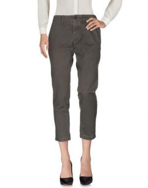 Повседневные брюки BELLEROSE. Цвет: свинцово-серый