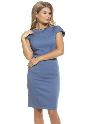 Платье Gloss. Цвет: голубой