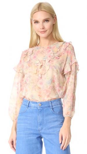 Блуза Shadow Rose Leur Logette. Цвет: бежевый