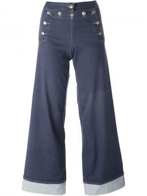 Расклешенные джинсы Jean Paul Gaultier Vintage. Цвет: синий
