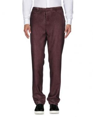 Повседневные брюки MASON'S. Цвет: пурпурный