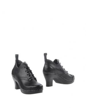 Ботинки SWEDISH HASBEENS. Цвет: черный