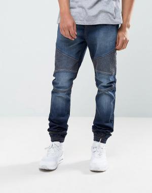 Loyalty & Faith Синие джинсы в спортивном стиле and Garrett. Цвет: синий