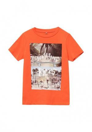 Футболка Name It. Цвет: оранжевый