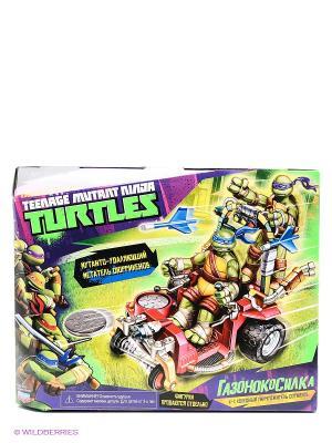 Игровой набор Газонокосилка Черепашки Ниндзя без фигурки Playmates toys. Цвет: синий, зеленый, красный, желтый