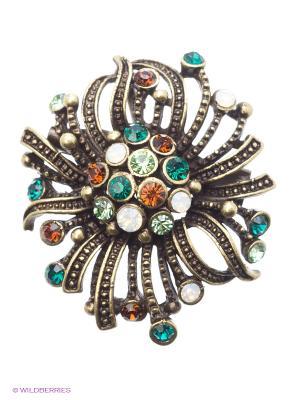 Брошь Lovely Jewelry. Цвет: золотистый