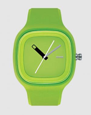 Наручные часы ALESSI. Цвет: зеленый