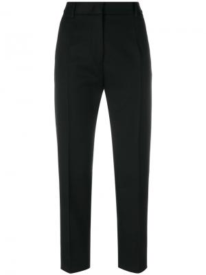 Укороченные строгие брюки Jil Sander. Цвет: чёрный