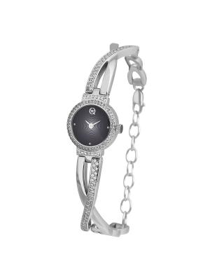 Часы ювелирные коллекция Q-Chic, QWILL, Часовой завод Ника QWILL. Цвет: черный