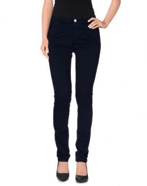 Повседневные брюки DRH. Цвет: темно-синий