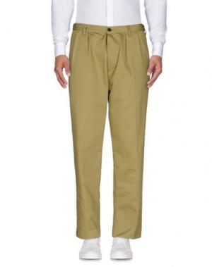 Повседневные брюки COVERT. Цвет: зеленый-милитари