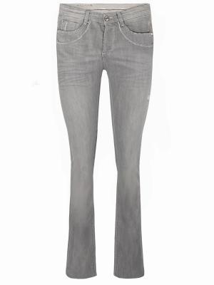 Зауженные джинсы ERMANNO SCERVINO. Цвет: серый